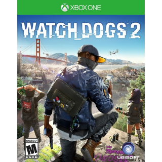 Watch Dogs 2 [Xbox One Game Key] [Region US] [Auto Delivery]