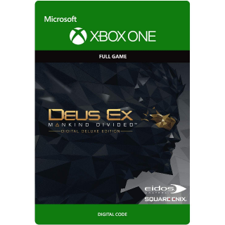 Deus Ex: Mankind Divided - Digital Deluxe Edition [Xbox One Digital Game] [USA Only] [Instant Delivery] (Gid#209)