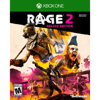 RAGE 2: Deluxe Edition [Xbox One Game Key] [Region US] [Instant Delivery]