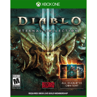 [Region✔️US] Diablo III: Eternal Collection [Xbox One Game Key] [Instant Delivery]