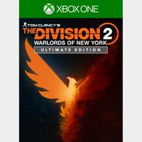 The Division 2 - Warlords of New York - Ultimate Edition [Region US] [Xbox One] [Instant Delivery]