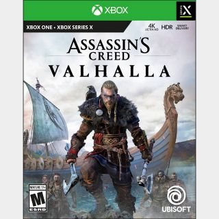 Assassin's Creed Valhalla [Region US] [Xbox One, Series X|S Game Key] [Instant Delivery]