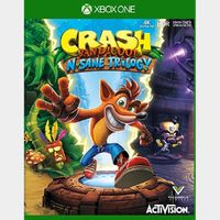 Crash Bandicoot N. Sane Trilogy [Xbox One Game Key] [Region US] [Instant Delivery]