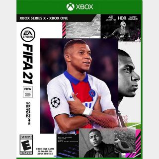 FIFA 21 Champions Edition Xbox One & Xbox Series X|S [Region US] [Instant Delivery]
