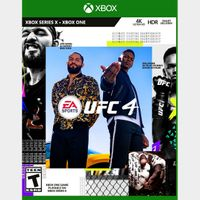 [+ $5 OFF] UFC 4 [US] [Xbox One Game Key] [Instant Delivery]