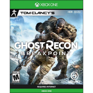 Tom Clancy's Ghost Recon® Breakpoint [Xbox One Digital Game] [USA Only] [Instant Delivery]