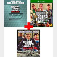 GTA$8,000,000 Cash+Base Game+Criminal Enterprise Starter Pack [Xbox One] [Region US] [Instant Delivery]