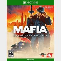Mafia: Definitive Edition [Region US] [Xbox One Game Key] [Instant Delivery]