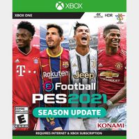 [+Get $3!] eFootball PES 2021 SEASON UPDATE STANDARD EDITION [Region US] [Xbox One Game Key] [Instant Delivery]