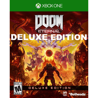 DOOM Eternal Deluxe Edition [Xbox One Game Key] [Region✔️US] [Auto Delivery]