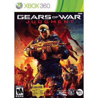 Gears of War Judgment [Xbox 360/One] [Digital] [USA Only] (Gid#127)