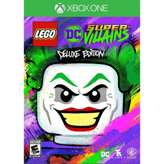 LEGO DC Super-Villains Deluxe Edition [Xbox One Game Key] [Region✔️US] [Auto Delivery]