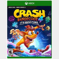 [+ $5 OFF] Crash Bandicoot 4: It's About Time [Region US] [Xbox One Game Key] [Instant Delivery]