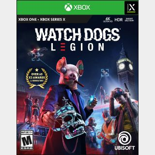 Watch Dogs: Legion [Region US] [Xbox One, Series X|S Game Key] [Instant Delivery]