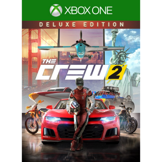 THE CREW 2 - Deluxe Edition [Region US] [Xbox One Game Key] [Instant Delivery]