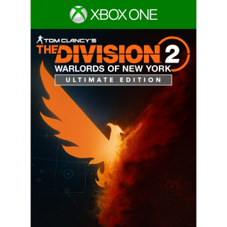 The Division 2 - Warlords of New York - Ultimate Edition [Region US] [Xbox One Game Key] [Instant Delivery]