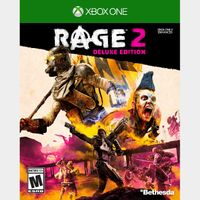 [+Get $3!] RAGE 2: Deluxe Edition [Region US] [Xbox One Game Key] [Instant Delivery]