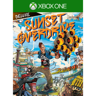 Sunset Overdrive Deluxe Edition [Xbox One Game Key] [Region US]