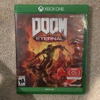 NEW DOOM ETERNAL XBOX ONE