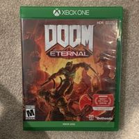 NEW DOOM ETERNAL XBOX ONE