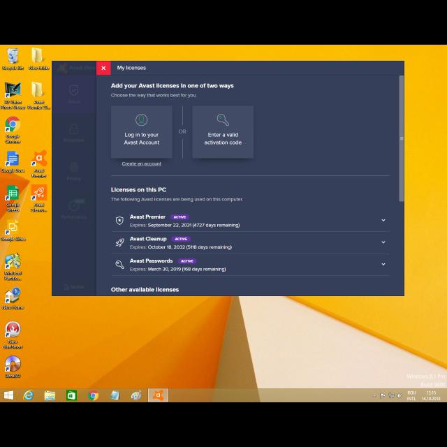avast premier 2018 windows 10 64 bits