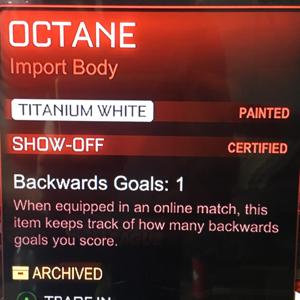 Octane | Titanium White