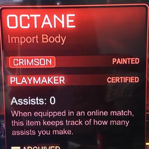 Octane | Crimson