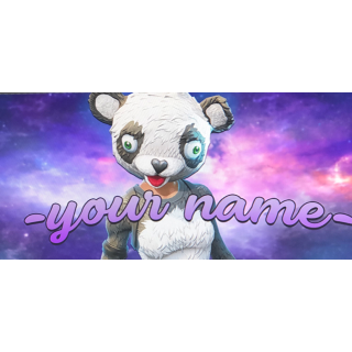 I will Make a personal fortnite Banner