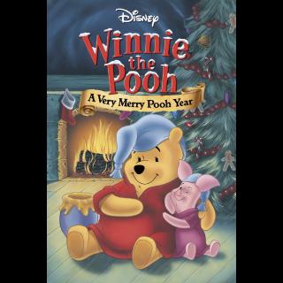 Winnie the Pooh: A Very Merry Pooh Year Movies Anywhere Split HD USA Digital Movie Code!