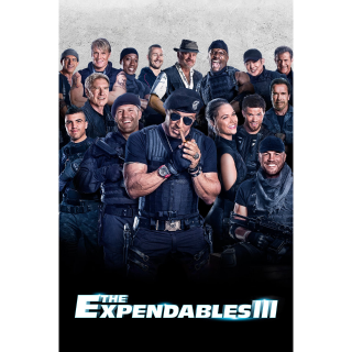 The Expendables 3 UNRATED Vudu digital movie Code  (Unknown if SD or HD).  Unrated Version!
