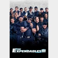 The Expendables 3 Vudu Digital Movie Code USA (Unknown if SD or HD)  (Actual Code)