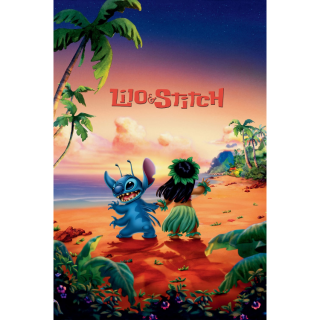 Lilo & Stitch HD Movies Anywhere Digital Movie Split code USA