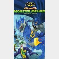 Batman Unlimited Monster Mayhem  HD Movies Anywhere Digital Movie Code USA
