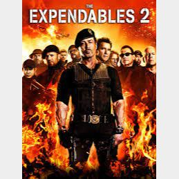 The Expendables 2 SD Itunes Digital Movie Code USA