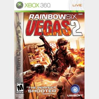 Rainbow Six Vegas 2 Xbox 360/Xbox One Digital Game Code USA