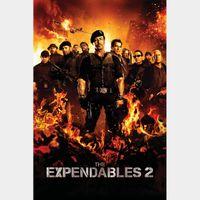 The Expendables 2 SD Vudu Digital Movie Code USA