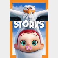 Storks HD Movies Anywhere Digital Movie Code USA