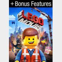 The Lego Movie + Bonus Features Warner Bros/Vudu Digital Movie Code USA