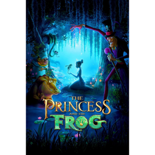The Princess and the Frog 4k Movies Anywhere Split digital movie code USA