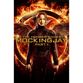 The Hunger Games: Mockingjay - Part 1 Vudu Digital Movie Code USA (Unknown if SD or HD)