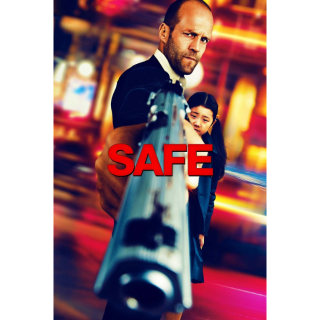 Safe HD Vudu Digital Movie Code USA