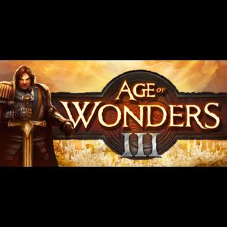 Age of Wonders 3 III steam key global