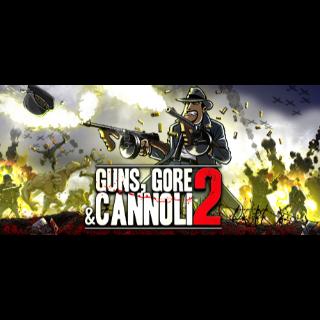 Guns, Gore and Cannoli 2 STEAM KEY GLOBAL