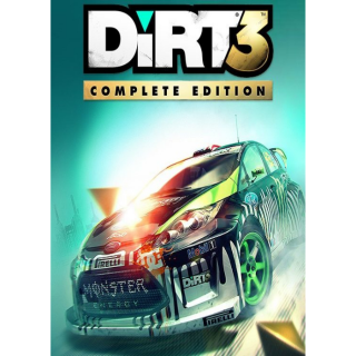 DiRT 3 Complete Edition Steam Key Global