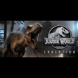 JURASSIC WORLD EVOLUTION + 1 DLC steam key global