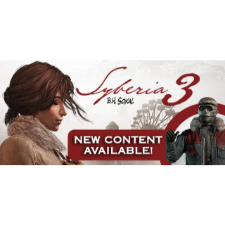 Syberia 3  +  An Automaton with a plan dlc Steam Key GLOBAL