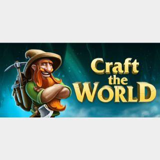 Craft The World steam key global