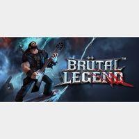 Brutal Legend steam key global