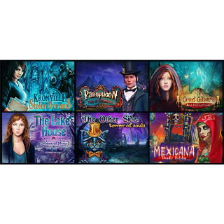 Hidden Object 6-in-1 bundle STEAM KEY GLOBAL