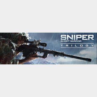 Sniper: Ghost Warrior Trilogy steam key global